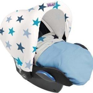 Dooky Hoody UV-suoja Tähdet Sininen