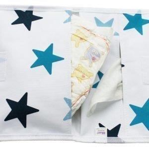 Dooky Minihoitolaukku Nappy Pack Tähdet Sininen