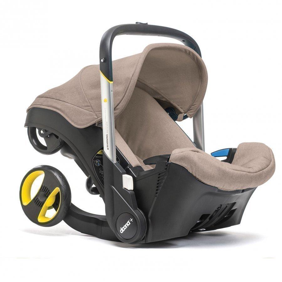 Doona Car Seat Stroller Beige Turvakaukalo 0-13 Kg