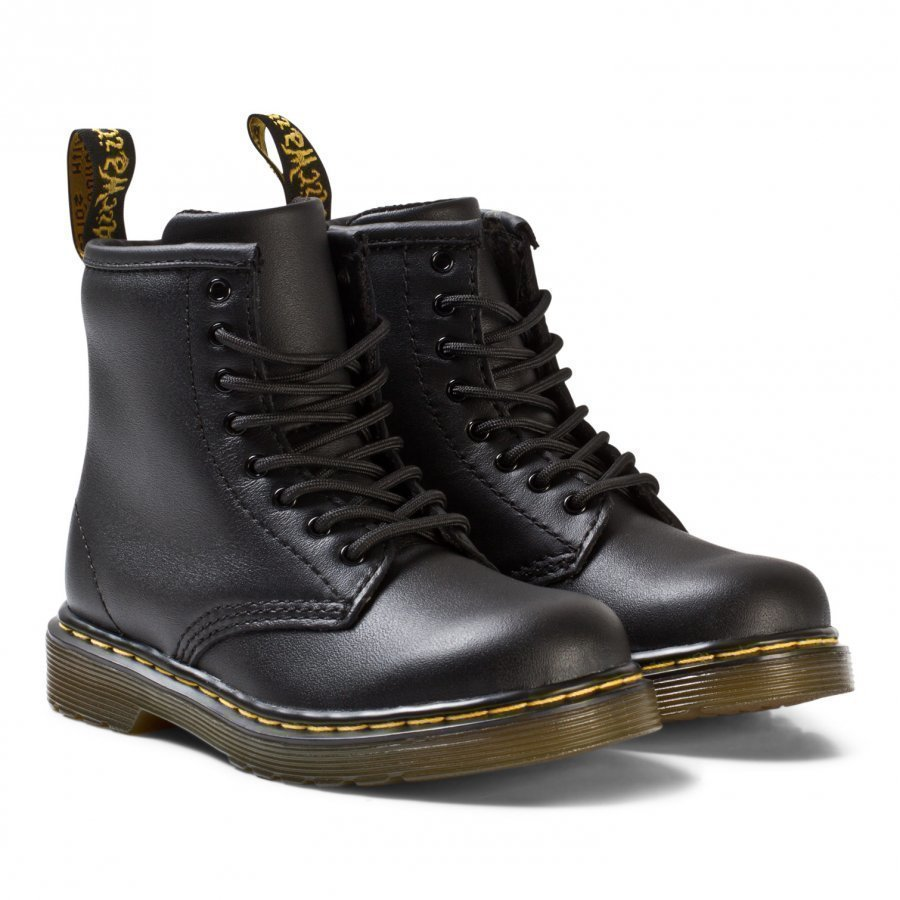 Dr. Martens Black Brooklee Softy T/Delaney Boots Nilkkurit