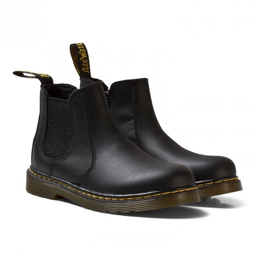 Dr. Martens Black Leather Banzai Chelsea Boots Nilkkurit