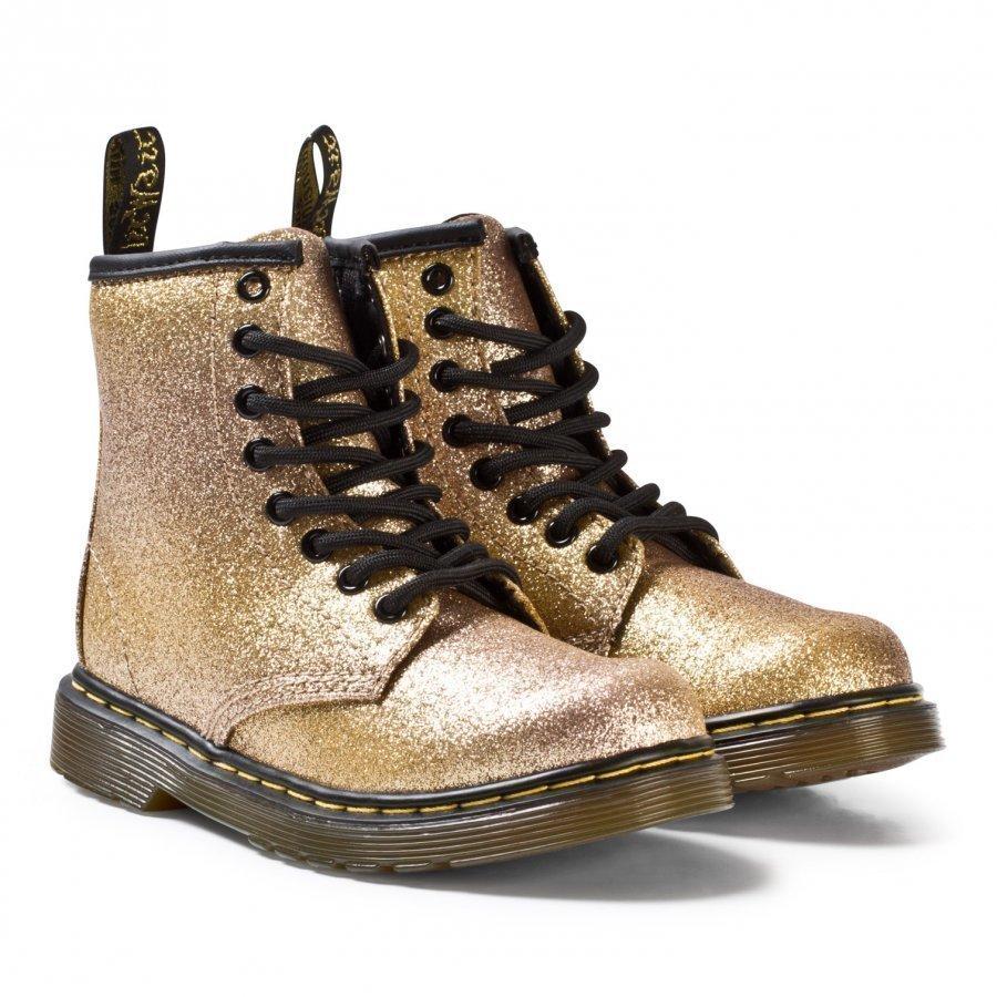 Dr. Martens Gold Glitter Delaney Boots Nilkkurit