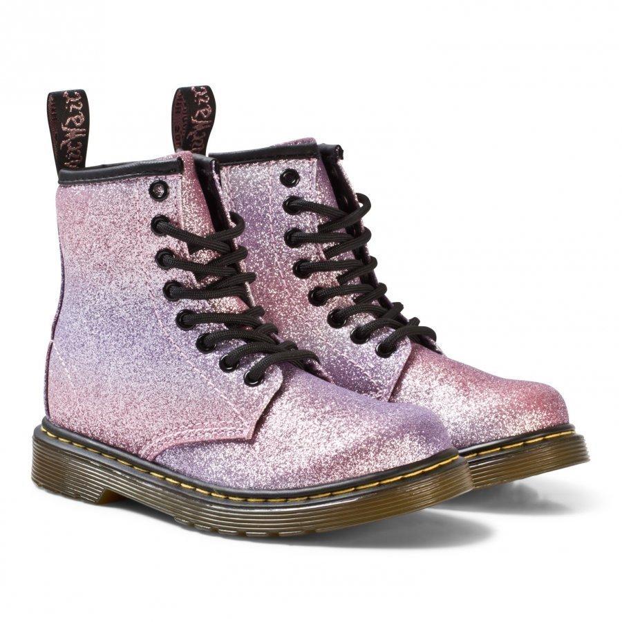 Dr. Martens Pink Glitter Delaney Boots Nilkkurit