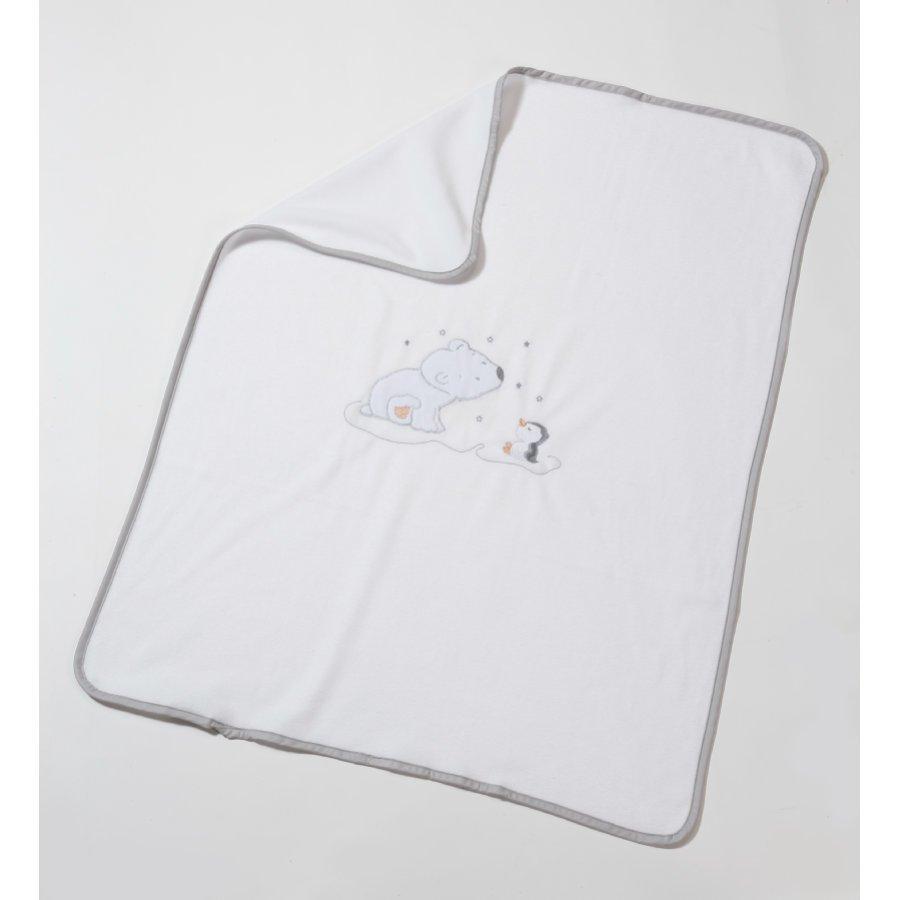 Easy Baby Fleece Peitto 78 X 90 Cm Jääkarhu Valkoinen