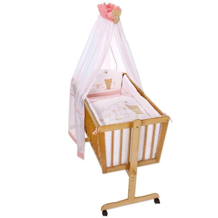 Easy Baby Kehtosetti Hunajakarhu Vaaleanpunainen 480 42