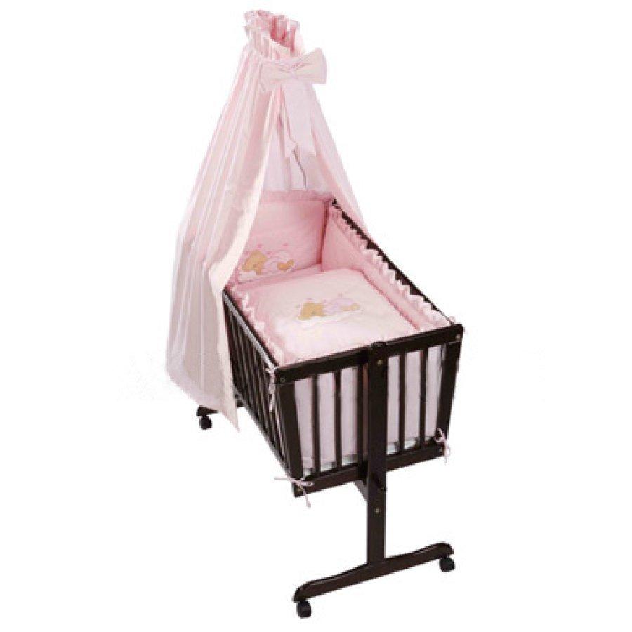Easy Baby Kehtosetti Nukkuva Karhu Roosa 480 82