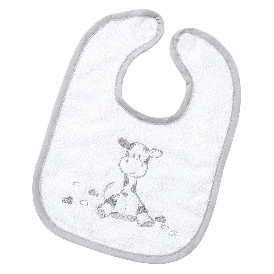 Easy Baby Ruokalappu Gina Valkoinen