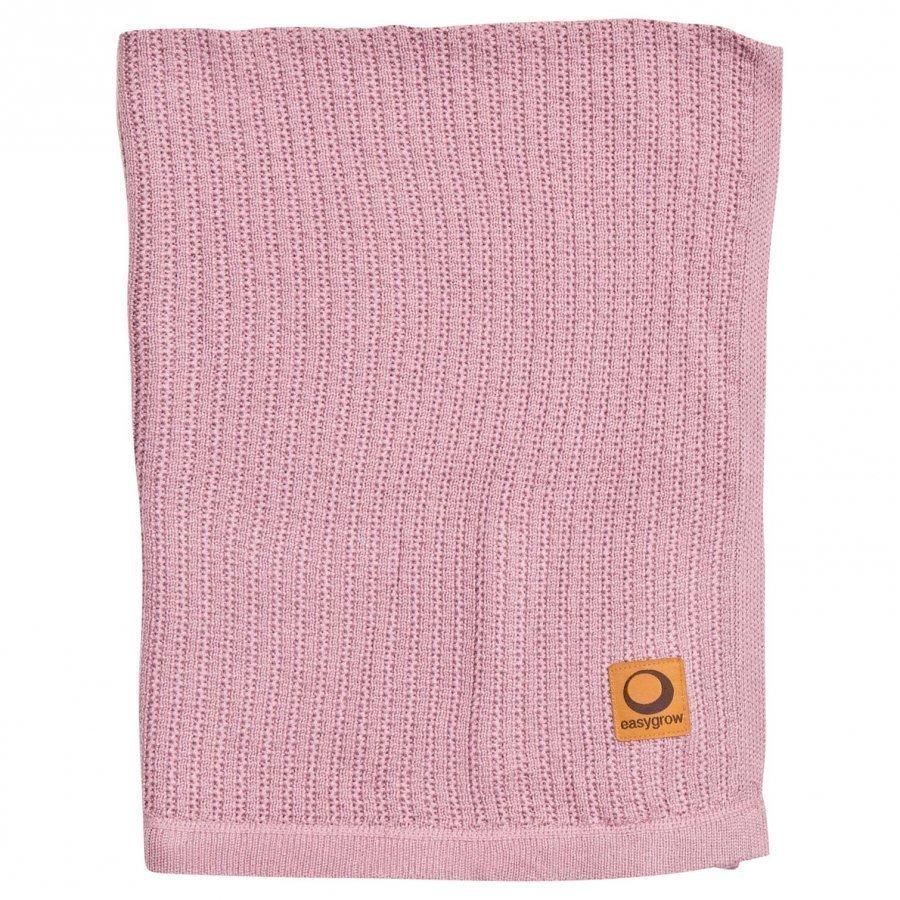 Easygrow Grandma Knitted Blanket Pink Huopa