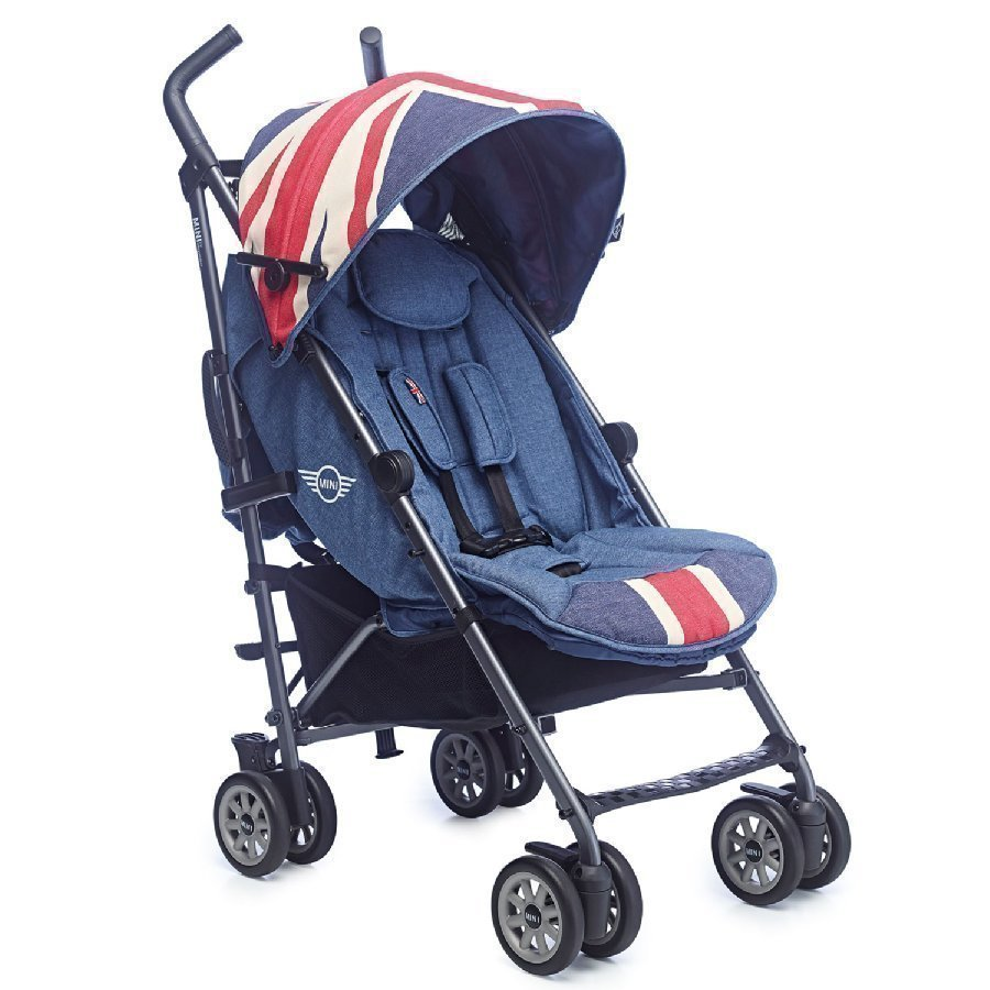 Easywalker Mini Buggy Union Jack Vintage Lastenrattaat