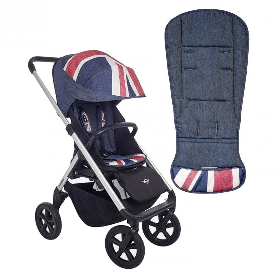 Easywalker Mini Design Set Union Jack Denim Kangassetti