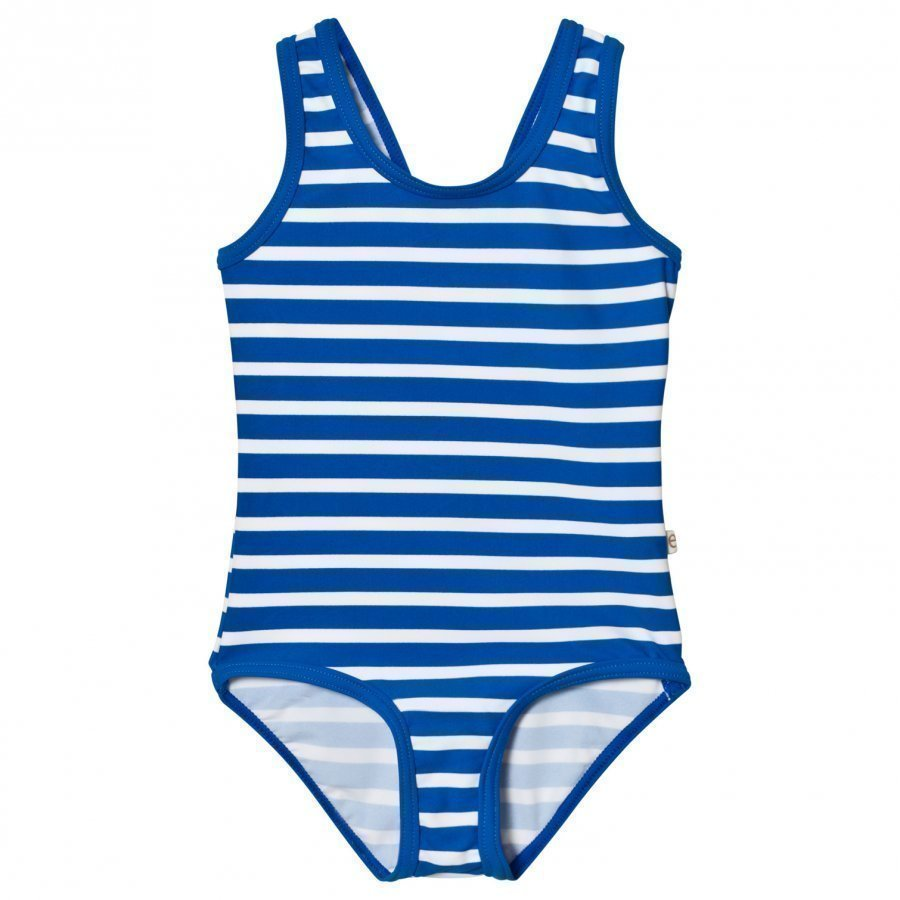 Ebbe Kids Agnes Swimsuit Ocean Blue Stripe Uimapuku