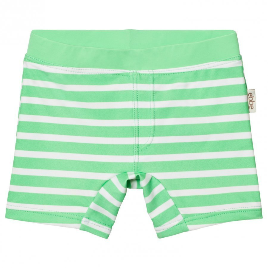Ebbe Kids Alanzo Swim Pant Crisp Green Stripes Uimahousut