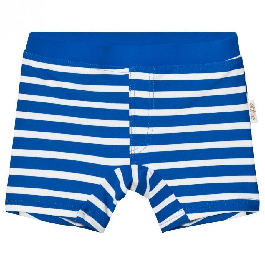 Ebbe Kids Alanzo Swim Pant Ocean Blue Stripe Uimahousut