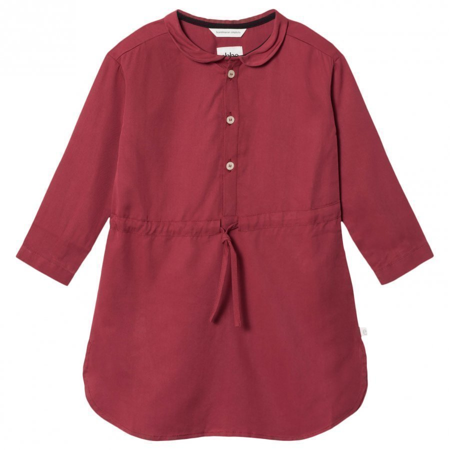 Ebbe Kids Amelie Dress Dark Red Chili Mekko