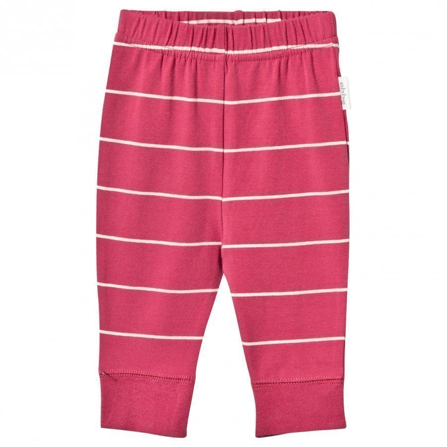 Ebbe Kids Angel Baby Pant Autumn Rose /Offwhite Stripe Verryttelyhousut
