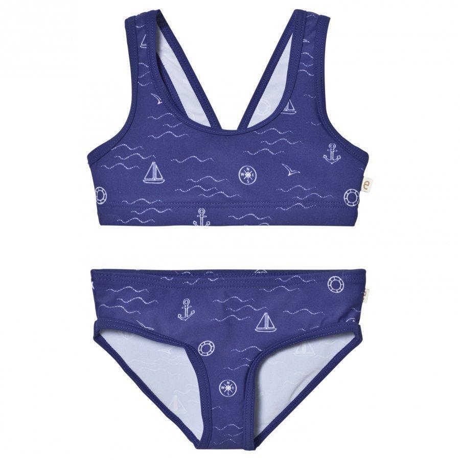 Ebbe Kids Ariel Bikini Blue Sea Waves Bikinit