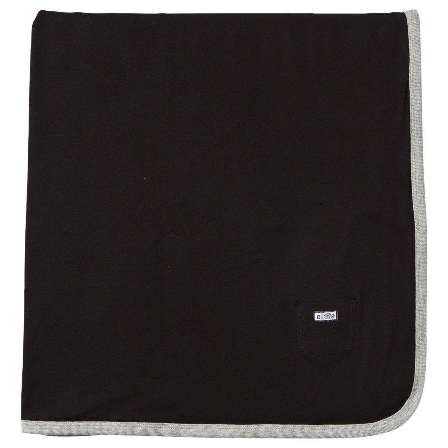 Ebbe Kids Baby Blanket Black Huopa