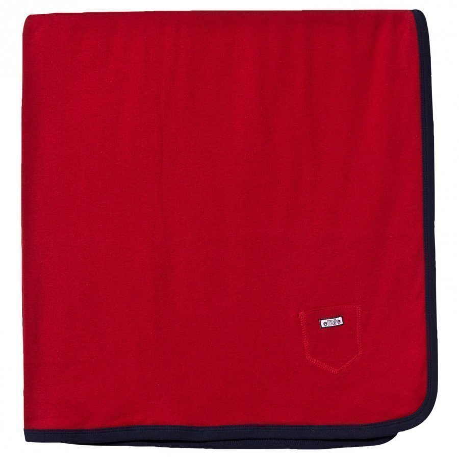 Ebbe Kids Baby Blanket Red Huopa