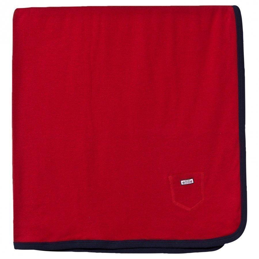 Ebbe Kids Baby Blanket Red Huopa
