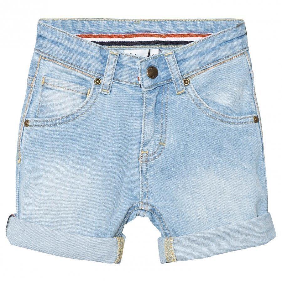 Ebbe Kids Barco Denim Shorts Light Blue Farkkushortsit