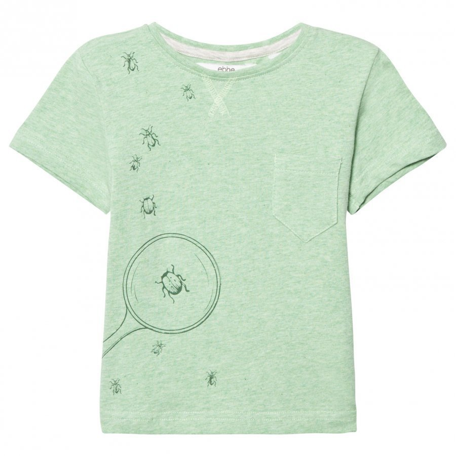 Ebbe Kids Barnie T-Shirt Pastel Green Melange T-Paita