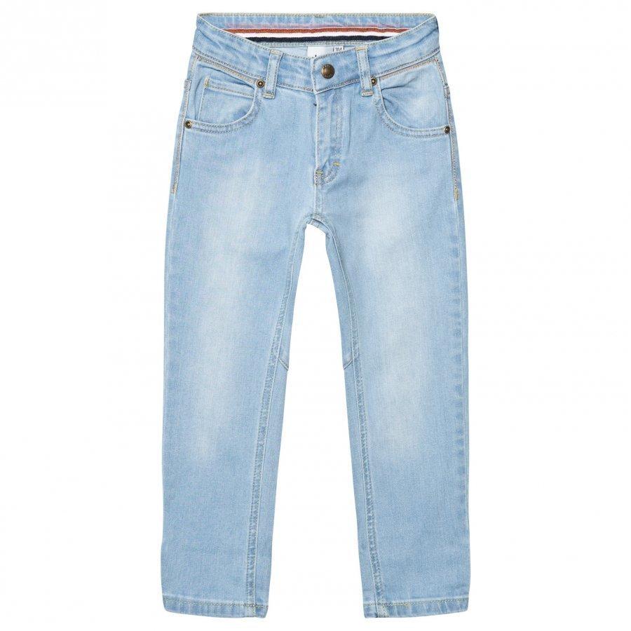 Ebbe Kids Bass Denim Pants Light Blue Denim Stretch Farkut