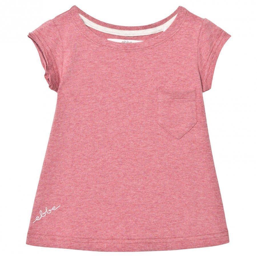 Ebbe Kids Becky Tee Washed Rose Melange T-Paita