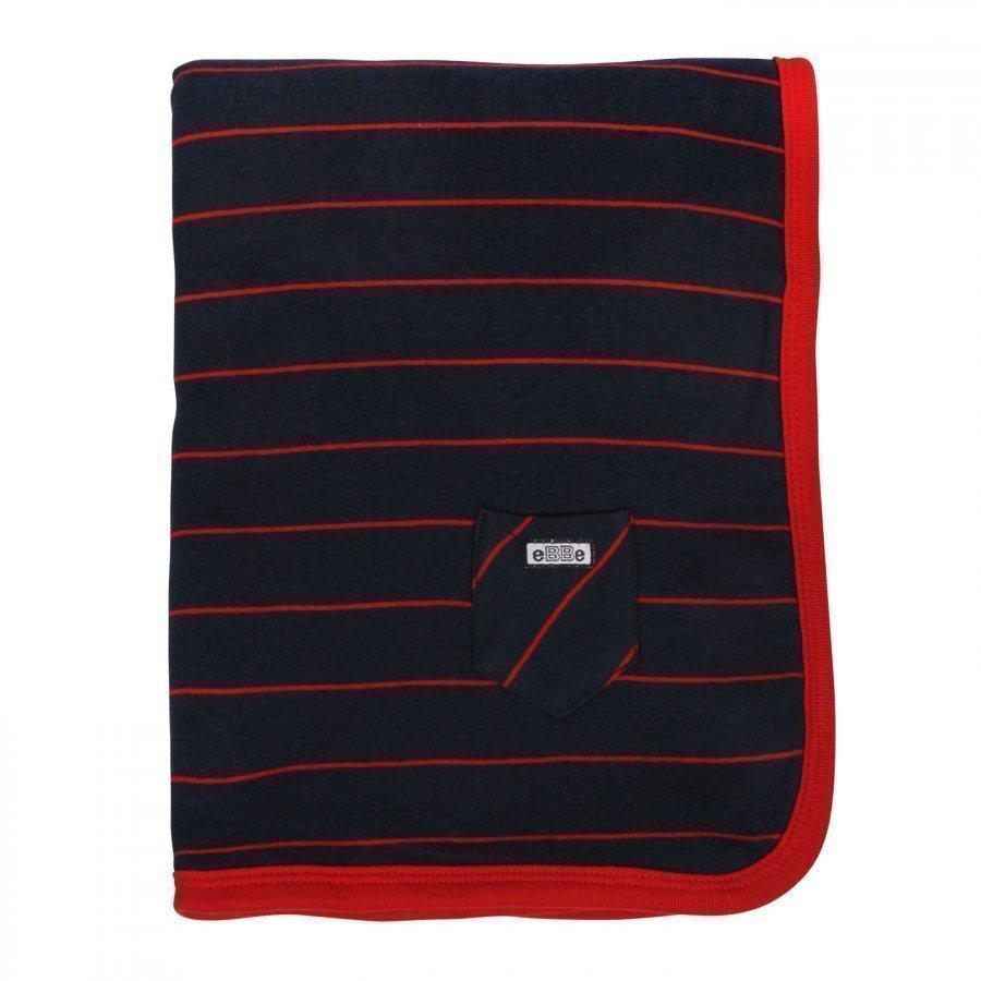 Ebbe Kids Blanket Etna Bue/Red Huopa