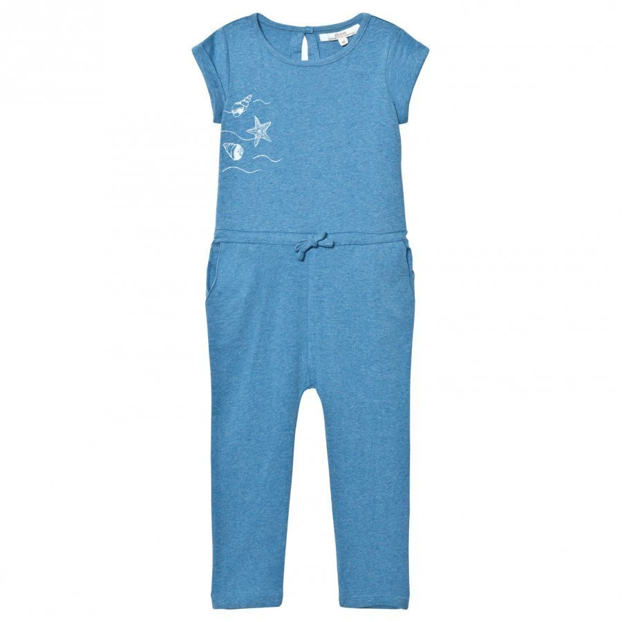 Ebbe Kids Bling Jumpsuit Blue Denim Melange Potkupuku