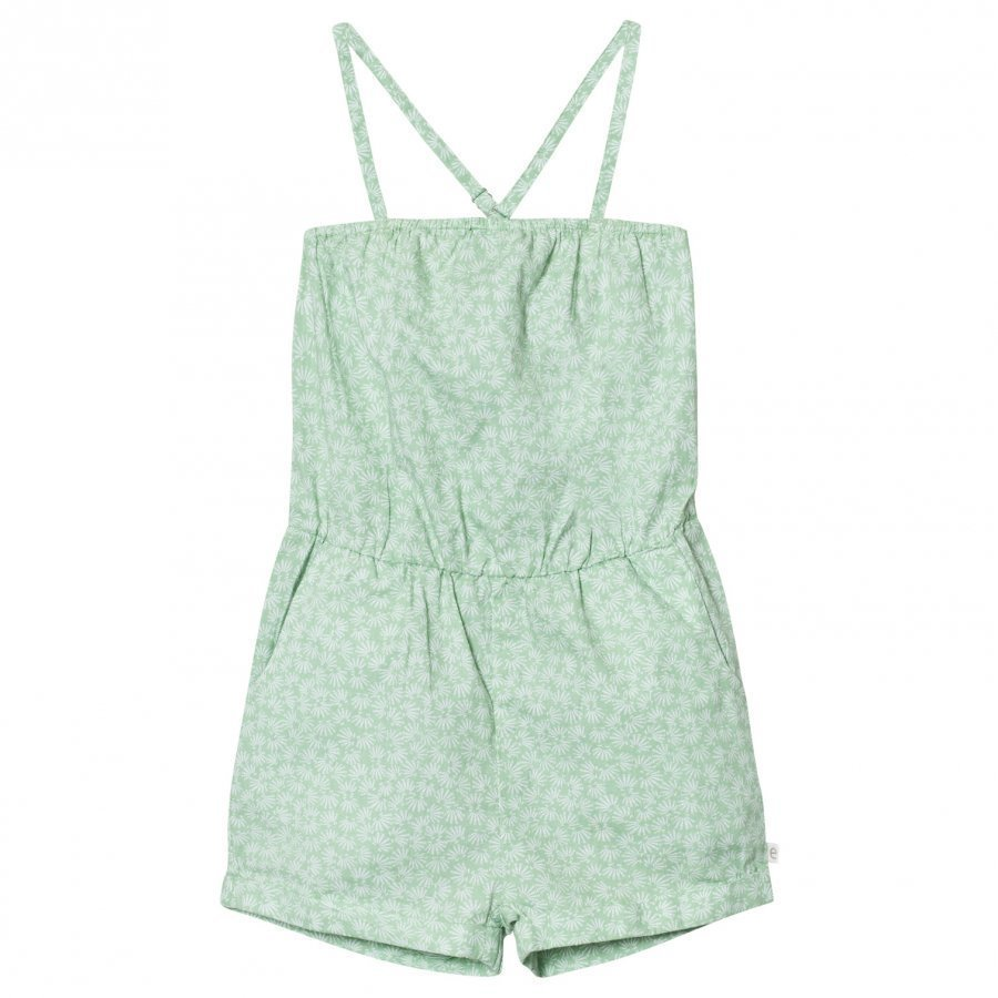 Ebbe Kids Camden Jumpsuit Green Feathers Potkupuku