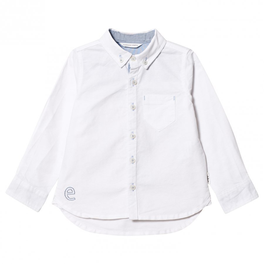 Ebbe Kids Casper Oxford Shirt Off-White Kauluspaita