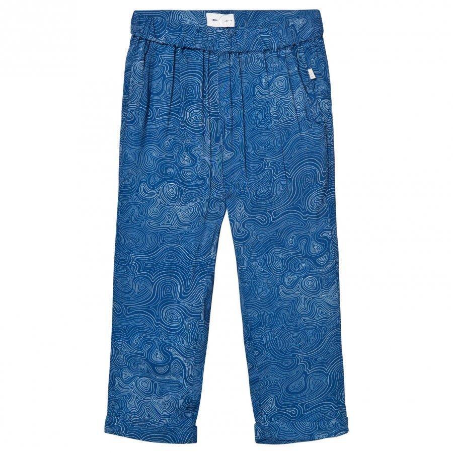 Ebbe Kids Celeste Pant Blue Ocean Swirls Housut