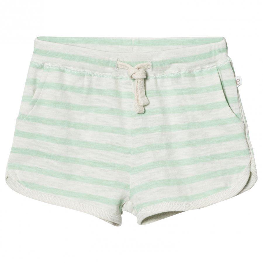 Ebbe Kids Daisy Shorts Off White/Ever Green Oloasun Shortsit