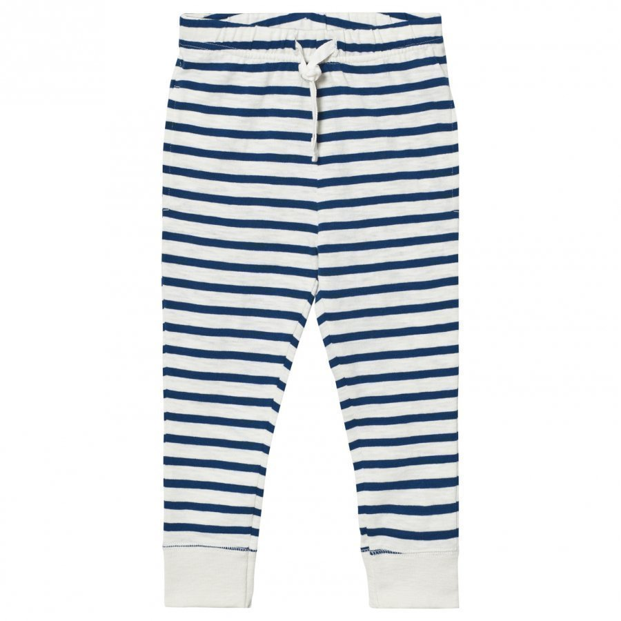 Ebbe Kids Devin Low Crotch Pant Off White/Seaside Blue Stripe Verryttelyhousut