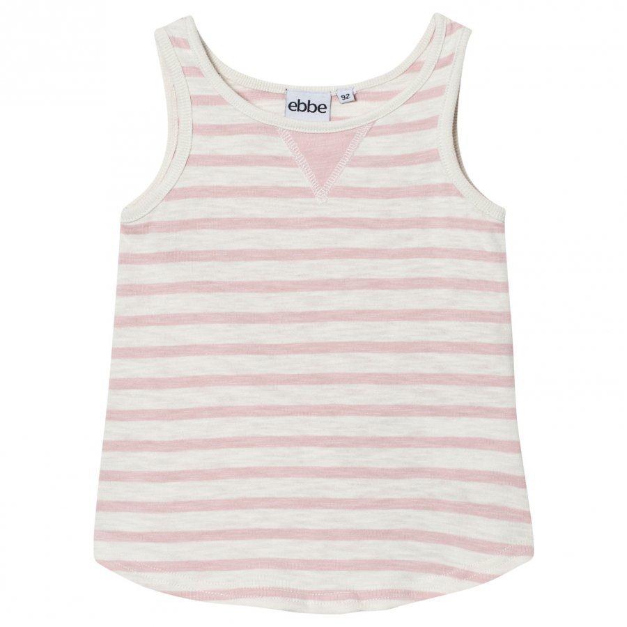 Ebbe Kids Dimona Tanktop Off White/Peachy Pink Stripe Liivi