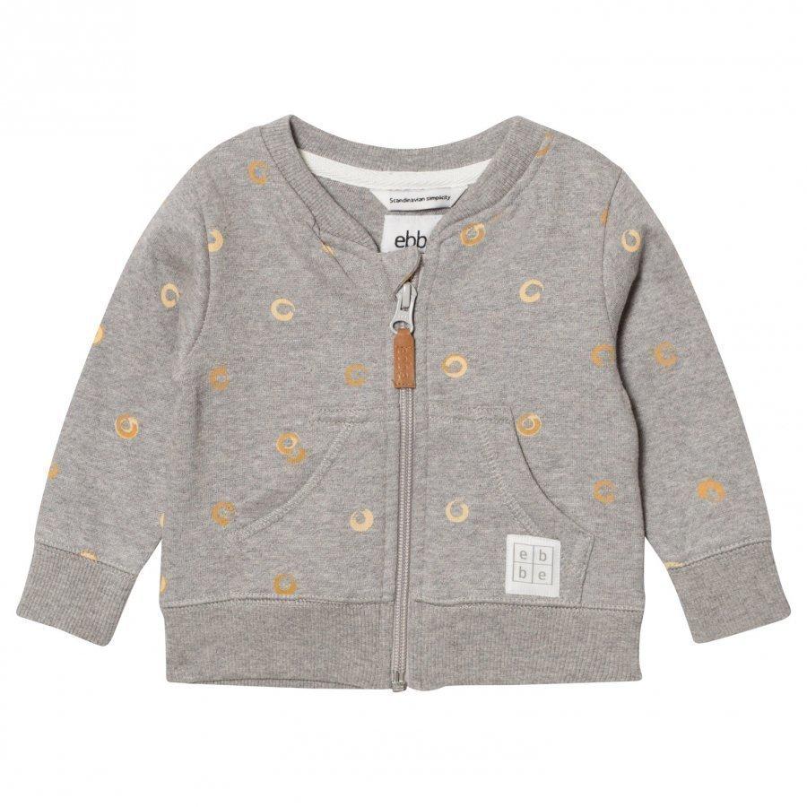 Ebbe Kids Elvo Sweat Jacket Soft Gold Swirls Oloasun Paita