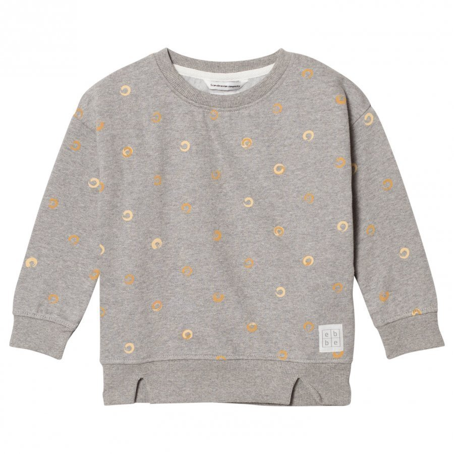 Ebbe Kids Friday Sweatshirt Grey Soft Gold Swirls Oloasun Paita