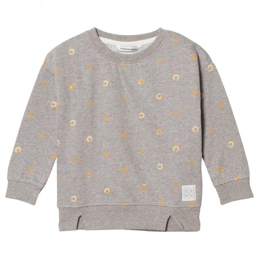 Ebbe Kids Friday Sweatshirt Grey Soft Gold Swirls Oloasun Paita