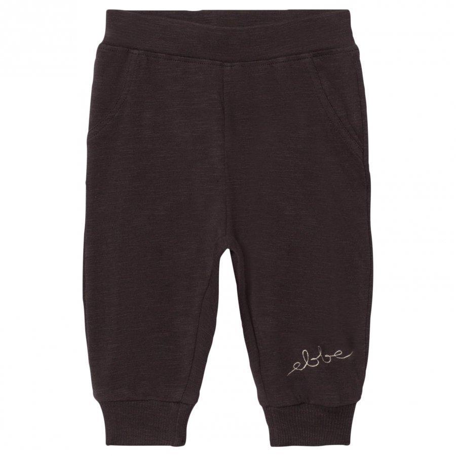 Ebbe Kids Hansa Soft Pant Soft Black Verryttelyhousut