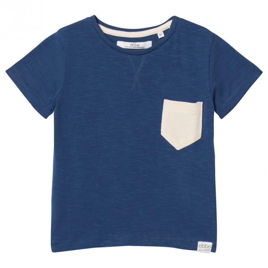 Ebbe Kids Harvey Tee Nordic Blue T-Paita