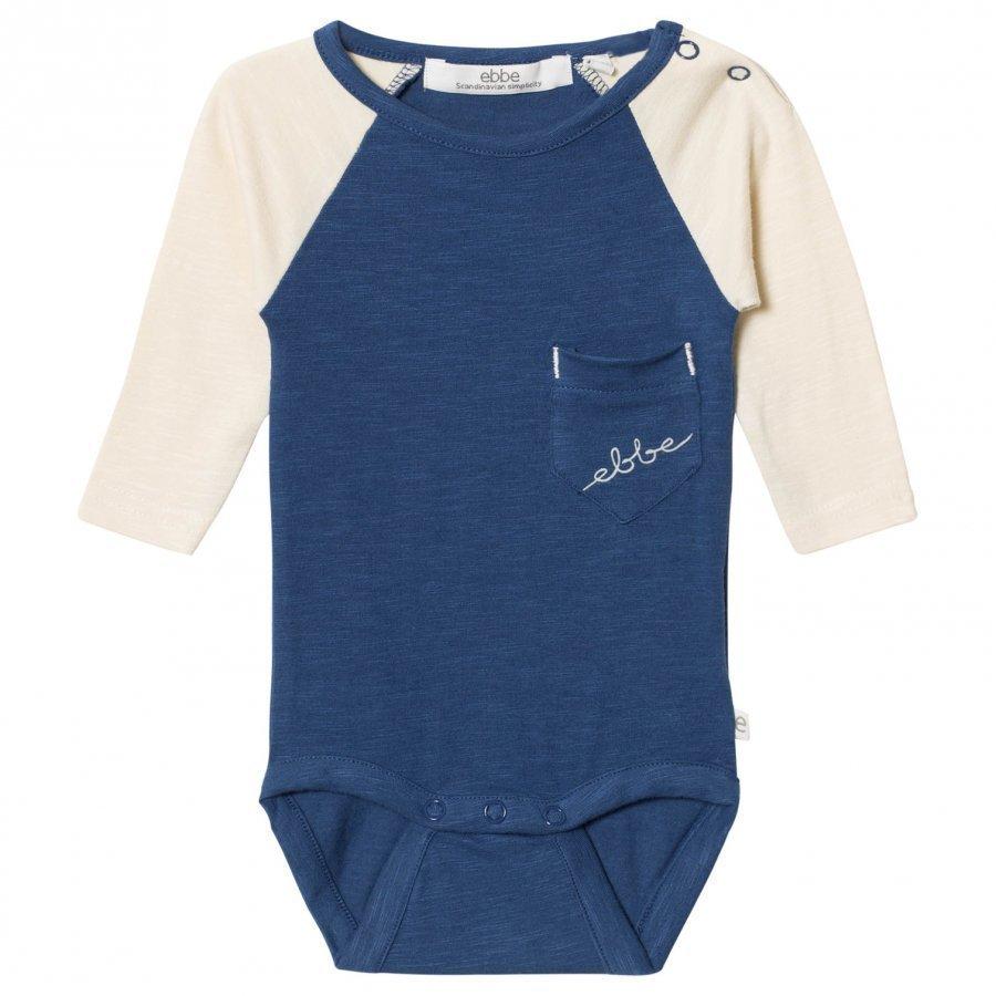 Ebbe Kids Hoger Baby Body Nordic Blue Body