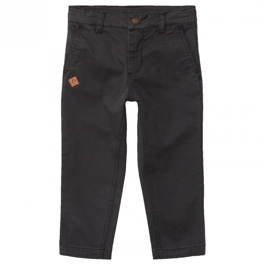 Ebbe Kids Johannes Chinos Soft Black Chinos Housut