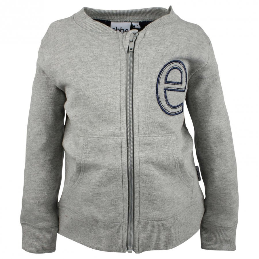 Ebbe Kids Moose Sweat Jacket Zip Grey Oloasun Paita