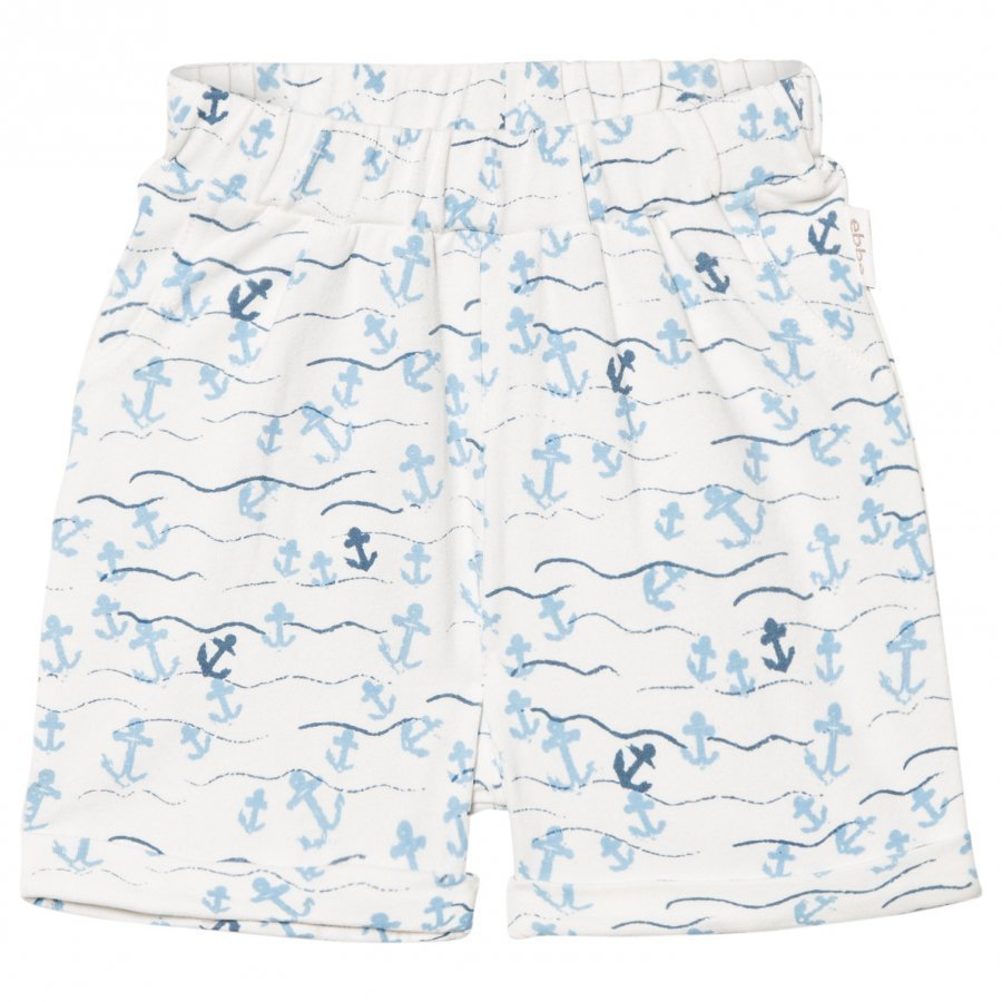 Ebbe Kids Mozart Relaxed Shorts Floating Anchors Oloasun Shortsit