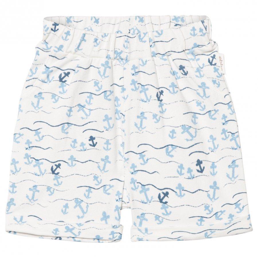 Ebbe Kids Mozart Relaxed Shorts Floating Anchors Oloasun Shortsit