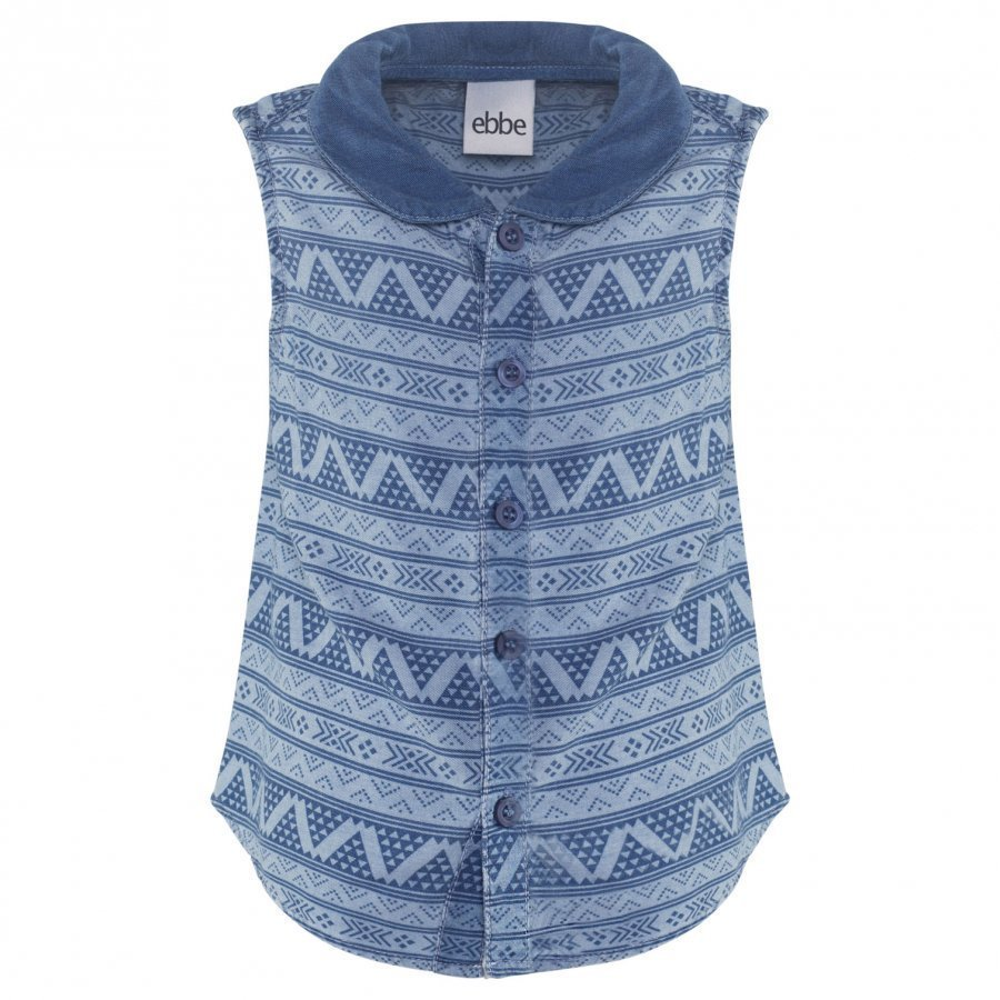 Ebbe Kids Pamela Blouse Small Blue Inka Liivi
