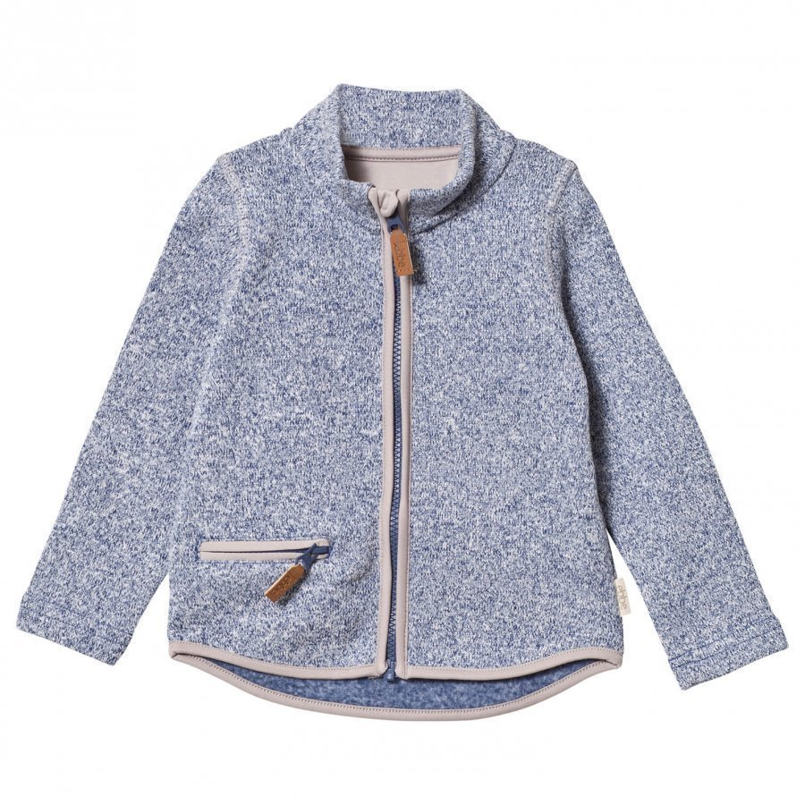 Ebbe Kids Rudy Fleece Jacket Washed Navy Fleece Takki