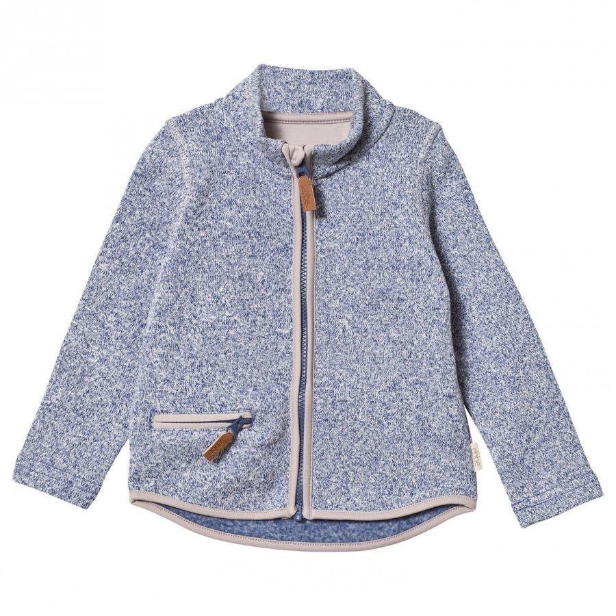 Ebbe Kids Rudy Fleece Jacket Washed Navy Fleece Takki