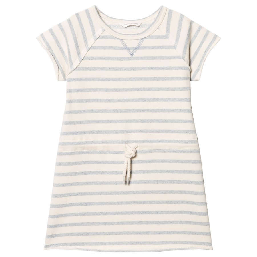 Ebbe Kids Sally Sweat Dress Blue Fog Stripes Mekko