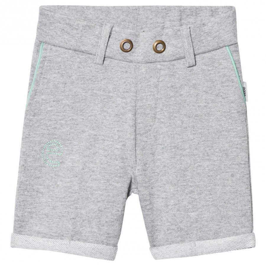 Ebbe Kids Saros Sweat Chinos Shorts Grey Melange Oloasun Shortsit
